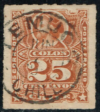 CHILE STAMP # 32 RULETEADO CANCEL TEMUCO