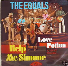 """7"""" 1971 BEAT ! THE EQUALS : Help Me Simone // VG++ \"""