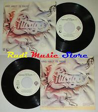 LP 45 7'' CHICAGO Hard habit to break Remember 1984 italy WARNER cd mc dvd *