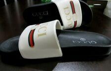 MEN'S GUCCI Slides Sandal Rubber  US Size: 8   EU: 41