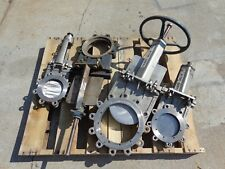 4 Used Fabri-Valve & FNW Stainless Steel Knife Gate Valves Needs Servicing