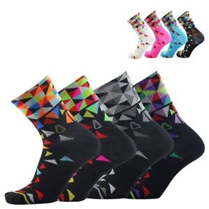 Cycling Socks Sport Outdoor Breathable Road Bicycle Colorful Mountain Bike Sock