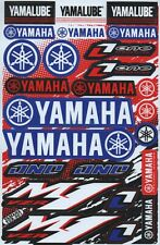 Yamaha Logo Stickers Sheet Emblem Motorcycle Racing ATV Bike Graphics Decals E01