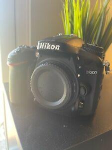 Nikon D7200 24.2 MP Digital SLR Camera with Extra Gear