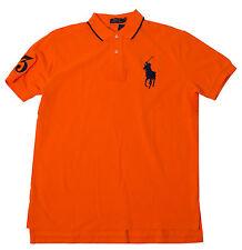 Polo Ralph Lauren Men's Mesh Shirts Green Orange Yellow Blue Gray Big Pony # 3