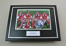 Dixon Adams Bould & Winterburn Signed Photo Framed 16x12 Autograph Display