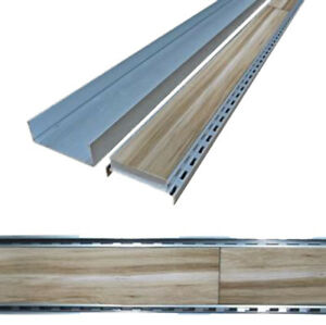 LAUXES 'Celleni' Tile-Insert Floor Waste / Grate x 100mm (sold in 1 metre length