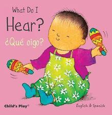 What Do I Hear? / Que Oigo? (Small Senses Bilingual)-ExLibrary