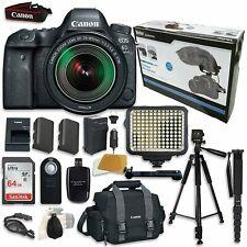 Canon EOS 6D Mark II Digital SLR Camera Bundle with EF 24-105mm IS STM Lens