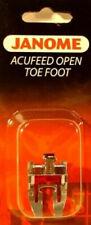 Open-Toe Applique Foot