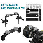 Magnetic Stealth Invisible RC Car Body Shell Post Mount For 1/10 HSP Road Drift