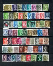 Great Britain British English Collection Postal Used Commemorative Lot (Uk 34)