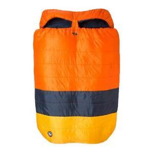 Big Agnes Dream Island 15 Sleeping Bag Orange/Navy/Yellow