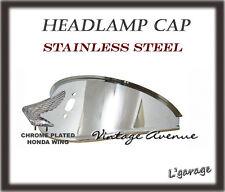 *HONDA CB350F CB400F CB400 CB400T CB450 CL450 CB500T HEAD LIGHT CAP + EMBLEM [T]
