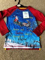 Tu Stick Man Long Sleeved Christmas Santa T-shirt 2-3 Years The Gruffalo