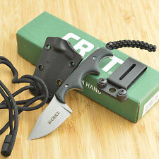 CRKT Columbia River Folts Minimalist 5Cr15MoV Bowie Blade Neck Knife 2387