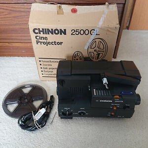 Vintage Chinon 2500GL Cine Projector (Untested, Sold As Is)