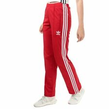 Women's adidas Originals Firebird Track Pants in Red