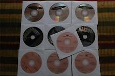 10 CDG LOT ROCK OLDIES KARAOKE- AEROSMITH,BEATLES,BON JOVI,MONKEES,ELVIS 20a