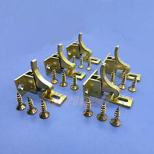 5pcs Extra Heavy Duty Brass Elbow Latch Cabinet Door / Window Catch
