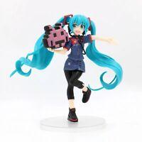 New in Box 20CM Hatsune Miku Game uniform PVC Action Anime Figure Toy