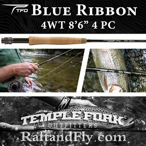 "TFO Blue Ribbon 4wt 8'6"" Fly Rod | Lifetime Warranty - FREE SHIPPING"