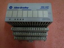 1440-RE00-04RD ALLEN BRADLEY ENTEK EXPANSION RELAY XM-441 & 1440-TB-D base