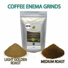 COFFEE ENEMA GRINDS LIGHT MEDIUM ROAST 50/50 ORGANIC GERSON AIR ROASTED 400g AUS