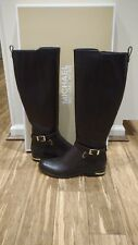 Michael Kors Arley Leather Boots Size: 7.5M