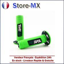 Paire de poignées Pro Taper Vert pour Moto-cross Kawasaki 65 85 125 250cc