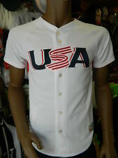Majestic MLB USA 09' World Baseball Classic Authentic Jersey UK Mens Size Medium