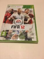 🤩 xbox 360 neuf sous blister officiel pal fr fifa 12 football soccer no pes
