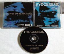 Pyogenesis - Sweet X-Rated Nothings CD OOP1995 NUCLEAR BLAST gorefest katatonia