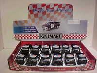 12 Pack of Police Dodge Ram Pickup Truck Diecast 1:44 Kinsmart 5 inch