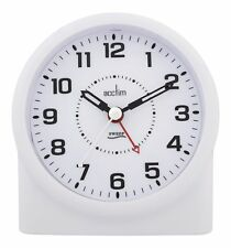 Acctim 14282 Central Smartlite Sweeper Alarm Clock, White Glow in the Dark