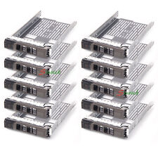 "10X 3.5"" SAS SATA Tray Caddy For Dell F238F Poweredge R410 R610 R710 T410 T610"