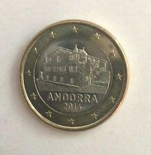 Pièce tres tres rare de 1 euro andorre de 2016