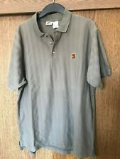 Nike Golf  Mens Polo Shirt Beige Color With The Logo. Size XL In Great Condition