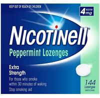 Nicotinell Peppermint Lozenges Mint 4mg 144 Bulk Pack