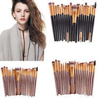 20PCS Pro Makeup Brush Powder Foundation Eyeshadow Eyeliner Cosmetic Brushes P