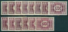 Österreich 1922 Portomarken Nr. 118-131 postfrisch