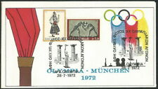 GREECE 1972 ''  FEEL THE OLYMPIC FLAME '' MUNCHEN on SCARCE COVER (ΑΝΣΦ 01)