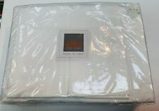 Brand New BELLINO Fine Linens Luxury Collection White percale Sheet Set QUEEN