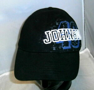 CHASE #48 LOWE'S LIVIN LARGE BLACK BIG NUMBER HAT CAP JIMMIE JOHNSON NWT