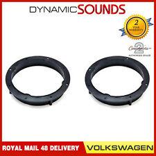 CT25VW10 165mm Front/Rear Door Speaker Adaptor Rings For Volkswagen Golf 2008 On