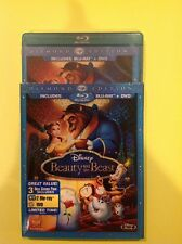 Beauty and the Beast (Blu-ray/DVD,2010,2-Disc,Diamond Edition)New Authentic US