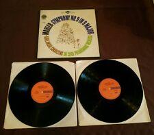 Mahler Symphony No 9 Karel Ancerl 2 LP set Crossroads 22 26 0006 vg+