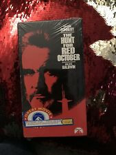 FACTORY SEALED The Hunt For Red October VHS Sean Connery Alec Baldwin