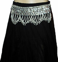 Store333 Gothic fusion belly dance Gypsy Metal Belt
