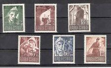Ö - 1947 Kriegsgefangenen Ausgabe Postfrisch ** MNH ANK 838 - 843